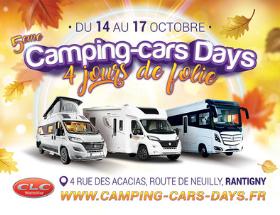 Camping-cars Days Octobre 2021