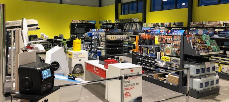 CLC Metz : magasin d'accessoires